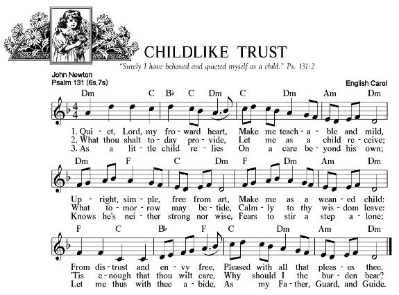 Childlike Trust