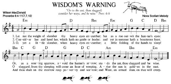 Wisdom's Warning